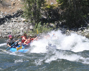 Whitewater Rafting Seattle, Wenatchee River - Half Day