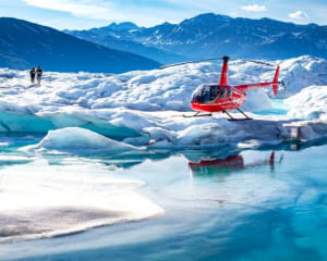 Helicopter Tour Prince William Sound with Glacier Landing, Anchorage - 90 Minutes