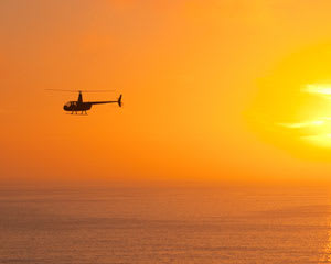Private Helicopter Ride, Hollywood Night Tour - 30 Minutes