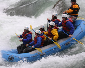 Whitewater Rafting Seattle, Skykomish River - Half Day