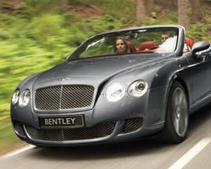 Bentley GTC Convertible Rental, 24 Hours - Miami