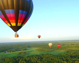 Hot Air Balloon Orlando, Private Basket, 1 Hour Flight