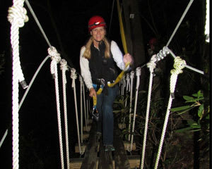Night Zipline Tour West Virginia, New River Gorge - 2 Hours