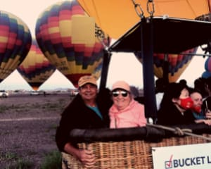 Hot Air Balloon Ride Albuquerque, Sunrise Rio Grande Flight - 1 Hour Flight