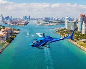 Private Helicopter Tour Miami - 40 Minutes