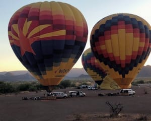 Hot Air Balloon Ride Albuquerque, Sunset Rio Grande Flight - 1 Hour Flight