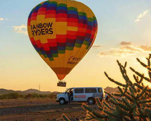 Hot Air Balloon Ride Phoenix, Sunset - 1 Hour Flight