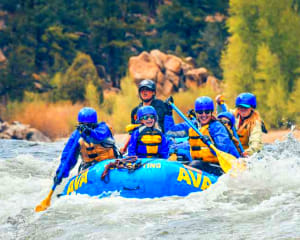 Whitewater Rafting Denver, Lower Canyon of Clear Creek, Half Day