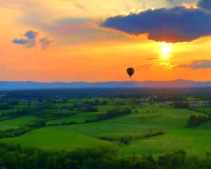 Hot Air Balloon Ride Saratoga Springs - 1 Hour Flight