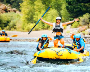 Whitewater Rafting Browns Canyon at Granite Outpost - Beginner