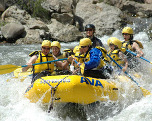 Whitewater Rafting The Numbers Half Day, Granite Outpost - Half Day
