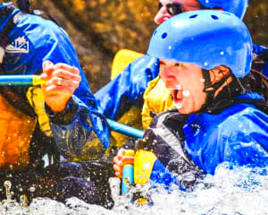 Whitewater Rafting The Gauntlet, Granite Outpost - Full Day