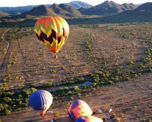 Hot Air Balloon Ride North Phoenix, Private Basket - 1 Hour Flight