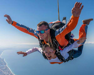 Oceanside Skydiving from 13,000 feet above San Diego