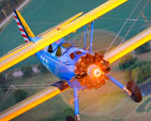 Biplane Aerobatic Flight Warrenton - 30 Minute Flight