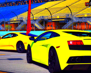 Ferrari and Lamborghini Drive, 6 Laps - Palm Beach International Raceway