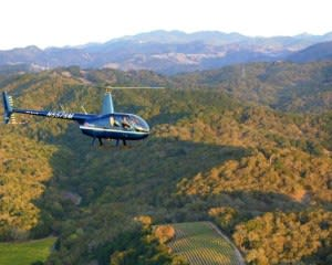 Helicopter Tour Sonoma County With Wine Tasting - 20 Minutes