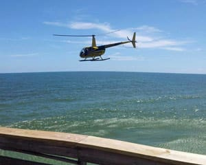 Helicopter Tour Cocoa Beach, Doors Off Flight - 15 Minutes