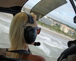 Helicopter Introductory Flight Lesson, Cocoa Beach - 10 Minute Flight