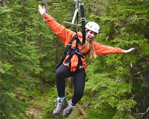Ketchikan Rainforest Zipline, Skybridge and Rappel Adventure, 3.5 Hours