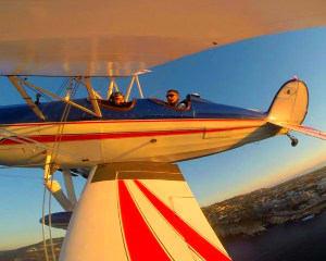 Aerobatic Biplane Flight San Diego - 45 Minutes
