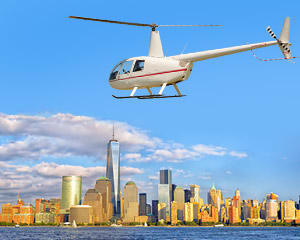 Helicopter Ride, Princeton to NYC - 90 Minutes