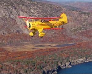Biplane Ride Acadia - 20 Minutes