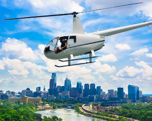 Helicopter Tour Princeton to Philadelphia - 1 Hour