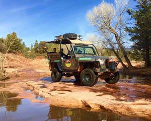Jeep Tour Sedona, Mongollon Rim Run   2 Hours
