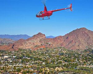 Helicopter Tour Phoenix, Desert Lakes - 40 Minutes