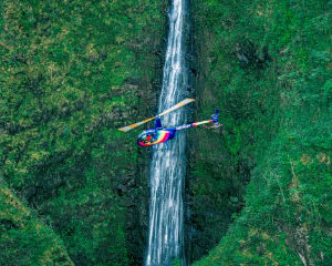 Helicopter Tour Oahu, Sacred Falls - 45 Minutes