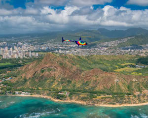 Helicopter Tour Oahu, Doors Off- 20 Minutes