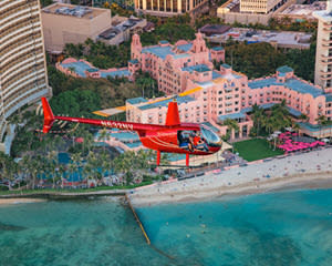 Helicopter Tour Oahu, Waikiki Sunset (Doors Off Available) - 20 Minutes