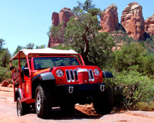 4x4 Jeep Tour Soldiers Pass Trail, Sedona - 1.5 hours