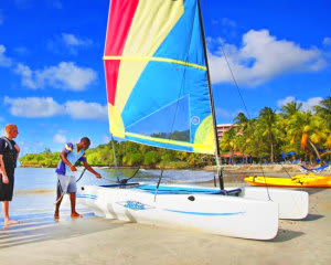 Hobie Cat Sailing Miami - 1 Hours