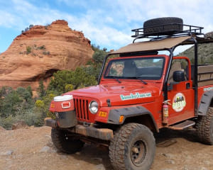 Jeep Tour Sedona, Mongollon Rim Run Extreme - 3 Hours