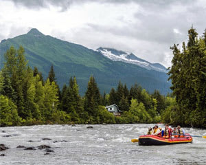 Juneau Rafting Tour, Mendenhall Glacier - 3.5 Hours