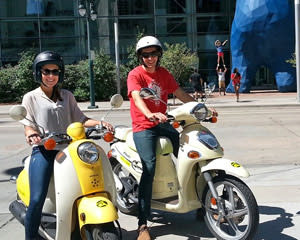 Scooter Guided Tour Denver - 2 Hours