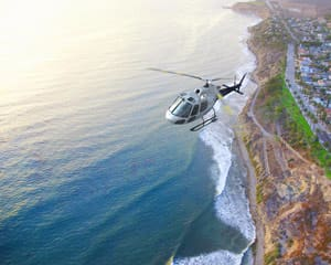 Private Helicopter Tour Long Beach, Beaches and Palos Verdes - 30 Minutes