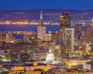 San Francisco Bus Tour, Double Decker Night Tour - 1.5 Hours