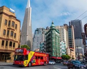 San Francisco Bus Tour, 1 Day Hop-On-Hop-Off Tour