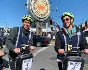 Segway Tour San Francisco, Wharf and Waterfront Tour - 2.5 Hours