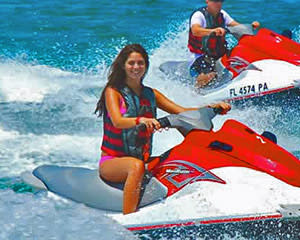Jet Ski Ride Miami - 1 Hour SPECIAL OFFER - PASSENGER RIDES FOR FREE