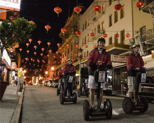 Segway Tour San Francisco, Night Tour of Chinatown and Little Italy - 2.5 Hours