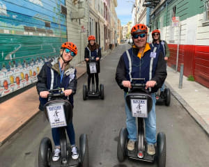 Segway Tour San Francisco, Advanced Wharf and Hills Tour - 2.5 Hours