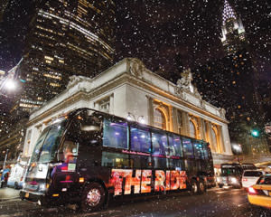 The Ride New York City, 75 Minutes - Interactive Bus Tour Holiday Edition