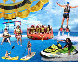 Flyboard, Jet Ski, Kayak & Parasail Package Miami