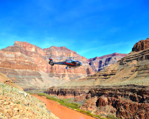 Helicopter Tour Grand Canyon West Rim with Landing - 15 Minutes