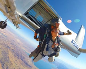 Skydive Las Vegas, Boulder City - 12,500ft Jump (FREE SHUTTLE INCLUDED!)