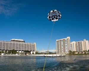 Parasailing Orlando, Disney's Contemporary Resort-Marina - 12 Minute Flight